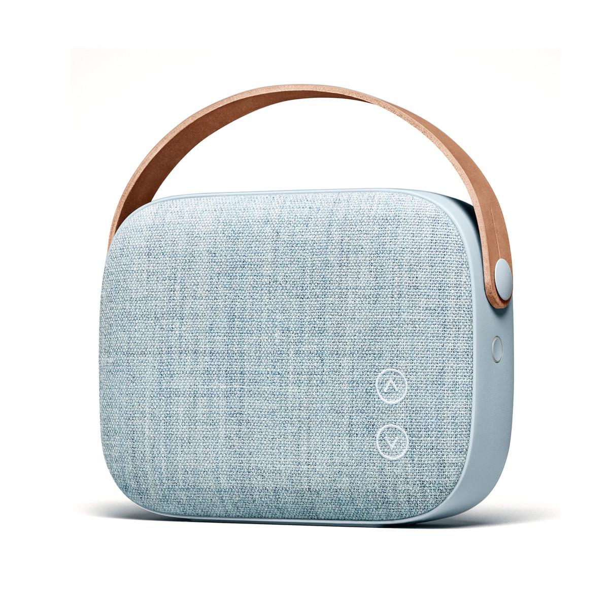 Vifa Helsinki - portabler Oberklasse Bluetotth Lautsprecher in blau oder rosa für 284,51 statt 371 €