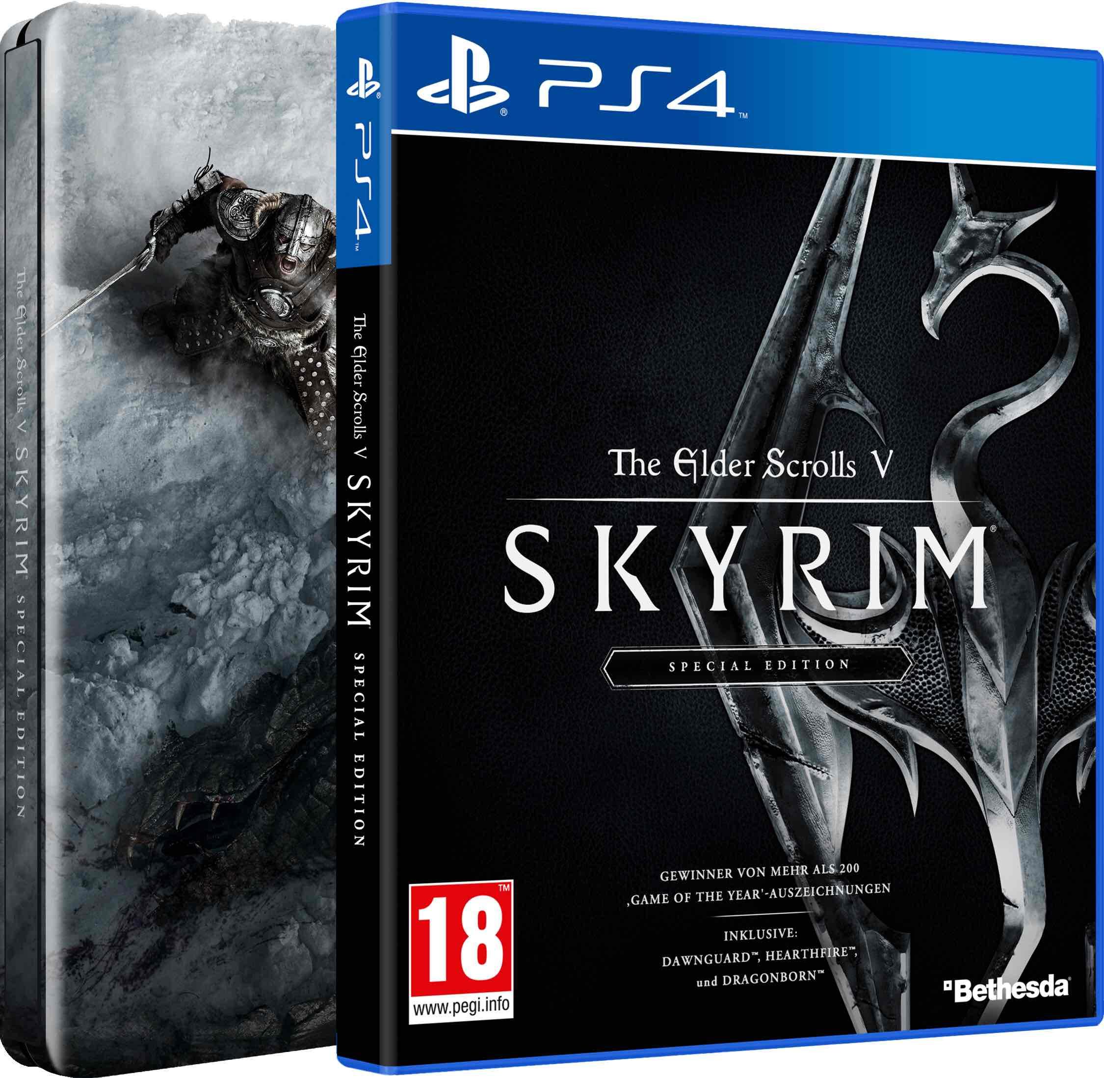 [Gameware.at] Elder Scrolls V: Skyrim Special + Steelbook (AT) für PS4 und XBOX ONE