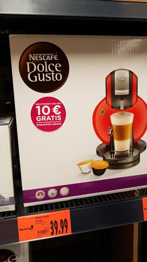 (Kaufland Essen) Dolce Gusto M3 KP2205 Kaffeeautomat