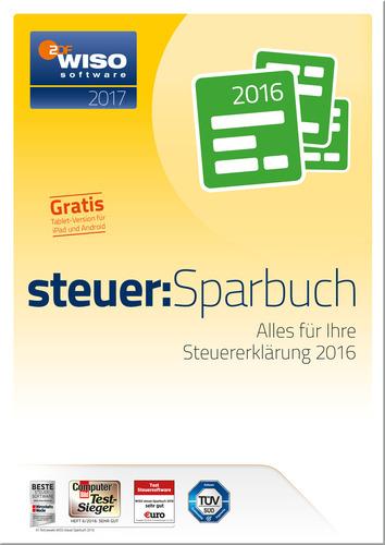 [mysoftware.de/Amazon] WISO Steuer-Sparbuch 2017 (für Steuerjahr 2016) - 19,75€ - Download oder CD-Version