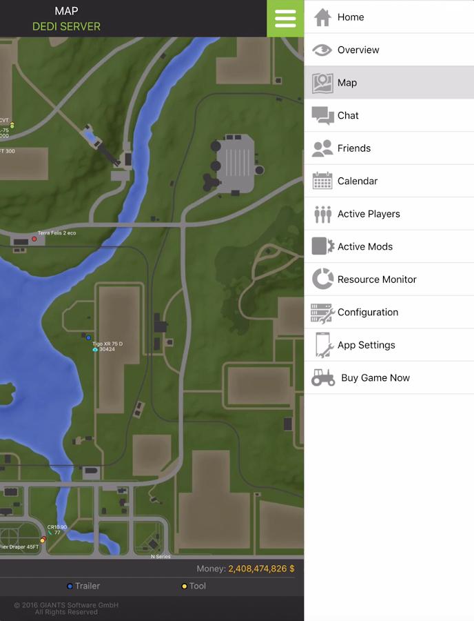 GIANTS Software Simulation Dedi App 17