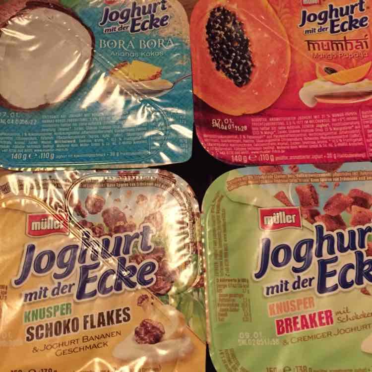 Edeka - Müller Joghurt mit der Ecke [lokal Edeka Garling Hamburg]