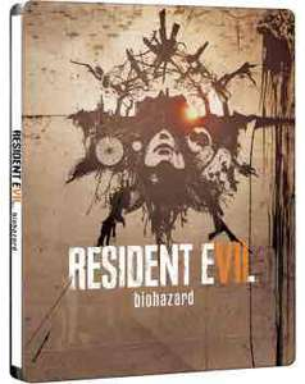 Resident Evil 7 biohazard - Steelbook Edition (AT PEGI) (PS4 oder Xbox One ) inkl. Chem Fluid DLC