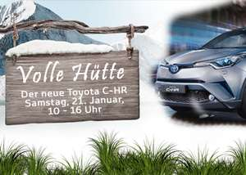 Gratis Schlemmen - Buffet bei Toyota in diversen Autohäusern am 21.01.2017 - Volle Hütte