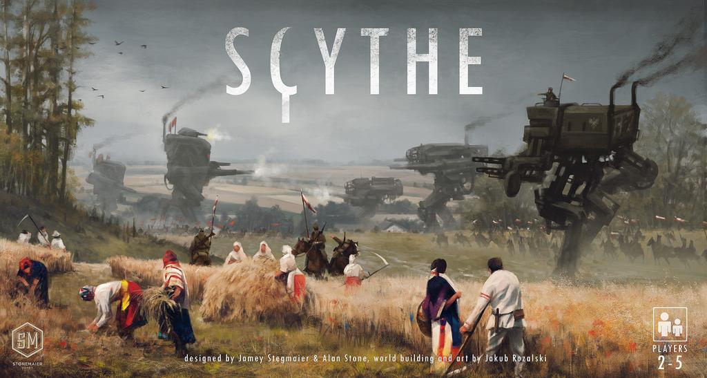 [Brettspielversand] Scythe - Brettspiel - Strategie - ab 16.05. verfügbar!!!!