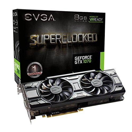 EVGA GeForce GTX 1070 SC Gaming ACX 3.0 Black Edition 8192MB GDDR5 für 395,96€ (Amazon.co.uk) *UPDATE*