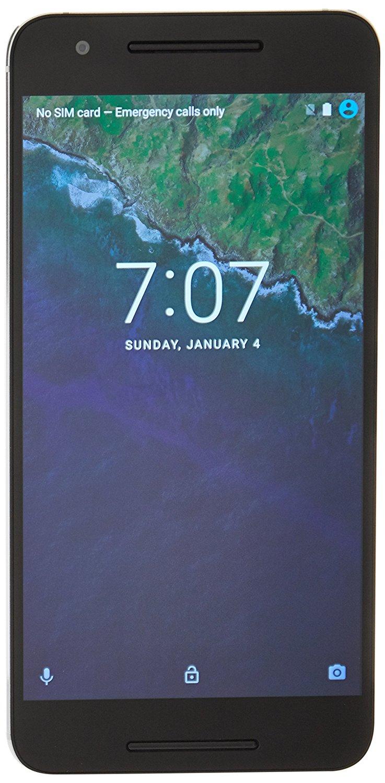 Google Nexus 6P (5,7'' QHD Amoled, Snapdragon 810 Quadcore, 3GB RAM, 32GB intern, 8MP + 12,3MP, Aluminium-Gehäuse, USB Type-C, 3450 mAh, Android 7) für 315,27€ [Amazon.fr]