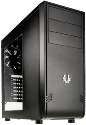 BitFenix Comrade kompaktes PC Gehäuse mit Seitenfenster, 120er-Lüfter & max. 6 Drives, ATX + Micro-ATX + Mini-ITX für 34,16€ (Voelkner)
