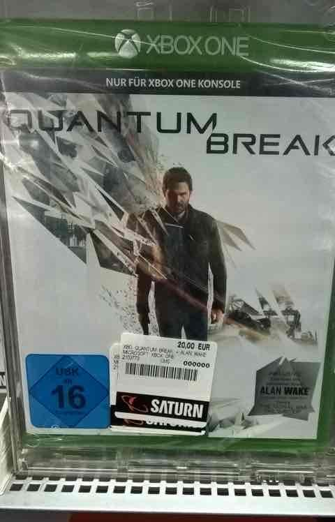 Quantum Break Xbox One Saturn Duisburg