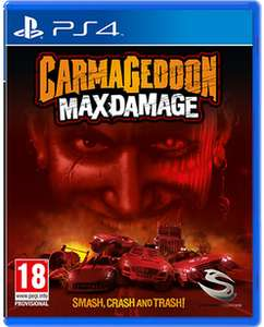 (Game.co.uk) Carmageddon, Max Damage ( PS4 / Xbox One ) für 15,74 € inkl. Versand