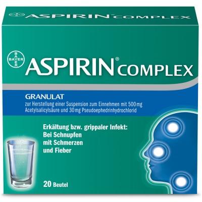 [Lokal 38723 Seesen] Aspirin Complex 20 Beutel