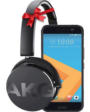 HTC 10 + AKG Y50