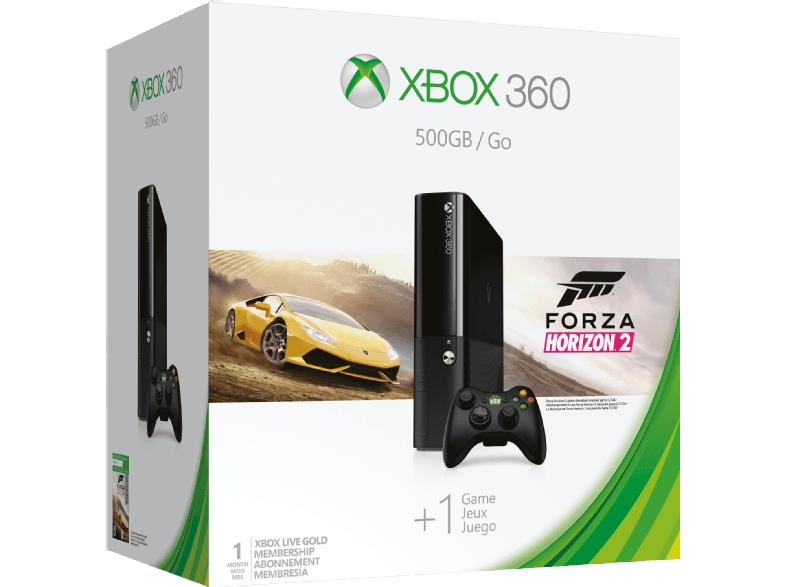 [Saturn Weekend Deals]MICROSOFT Xbox 360 500GB Forza Horizon 2 Bundle für 99,-€ Versandkostenfrei