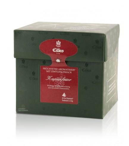 Eilles Früchtetee Kaminfeuer 20er Pack (Tea Diamonds)