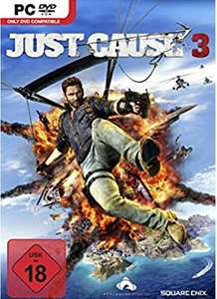 Just Cause 3 PC, Standard Edition als DVD, kein CD Key