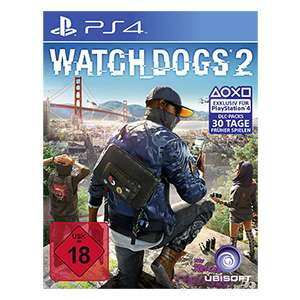 Watch Dogs 2 (PS4 / XBO) (Disc) für 34,95€ versandkostenfrei [Real]
