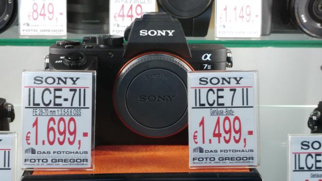 Sony A7II mit Kit Objektiv 28-70