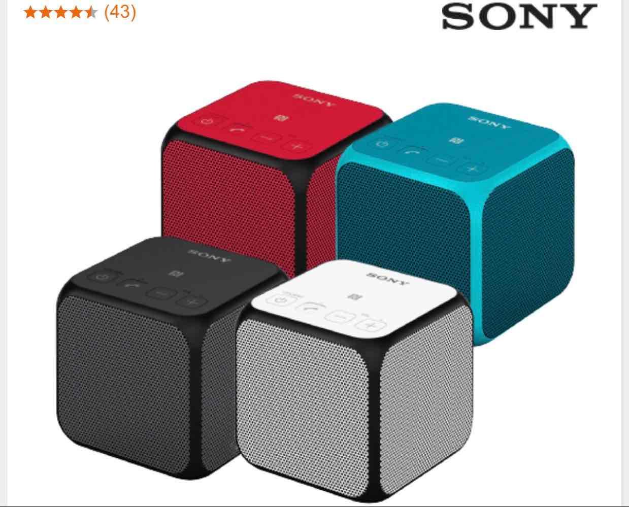 [ Saturn ] SONY SRS-X11 Bluetooth Lautsprecher für 39,99€