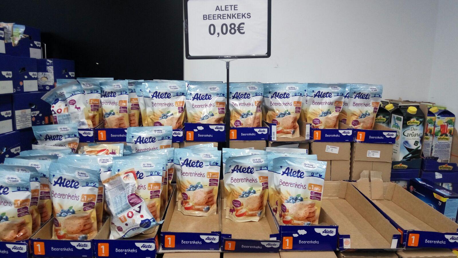 *lokal* Alete Snacks für Kleinkinder für nur 0,08€ pro Packung!