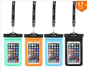 [Banggood] Wasserdichte Universal Smartphonehülle für 3,49 Euro