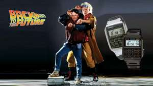 "Casio CA-53W-1ER ""Marty McFly"" oder ""Doc Brown"" Uhr"