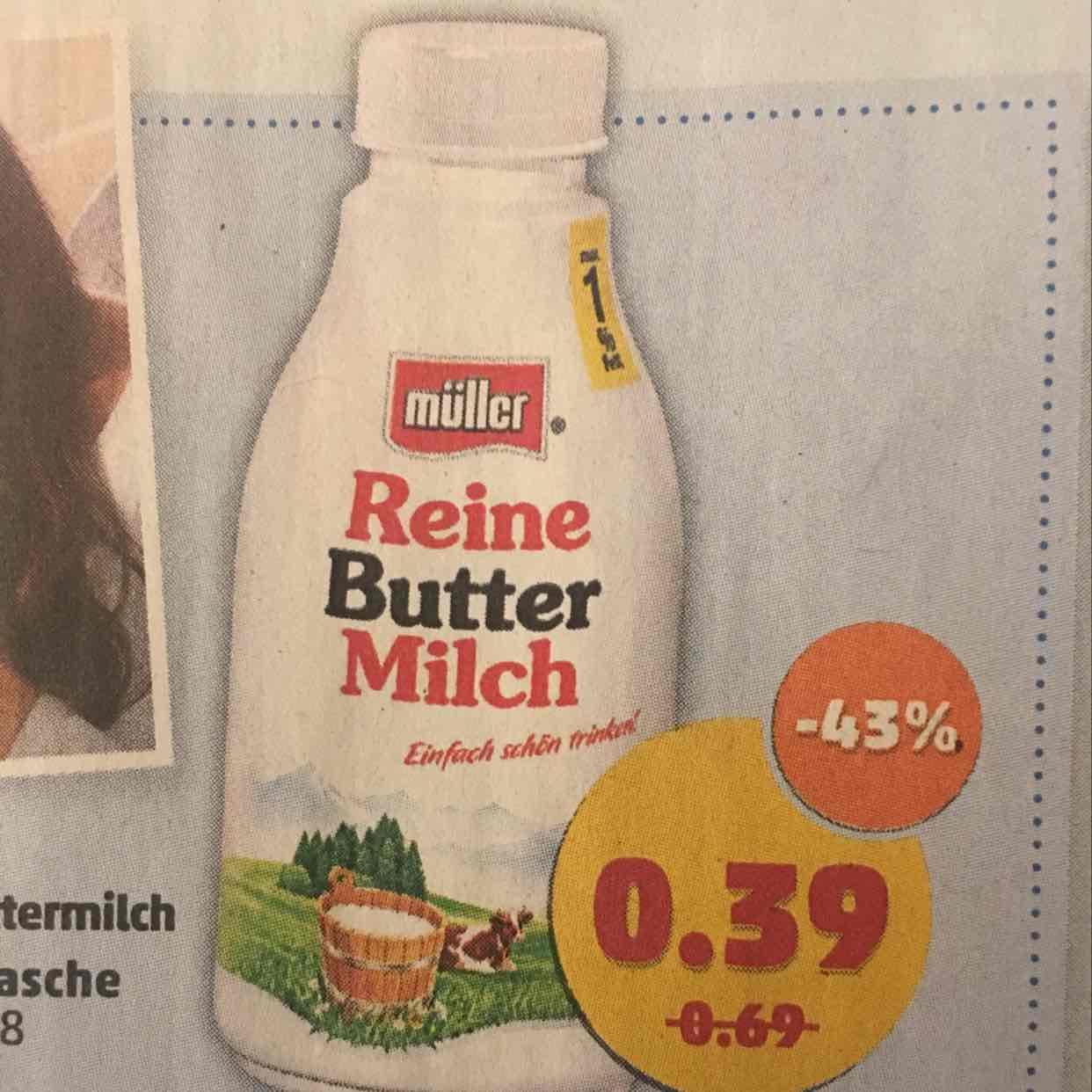 Müller Reine Buttermilch 500g Penny