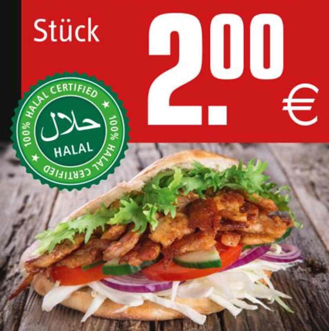 [REWE Widmann, Friedrichshafen am Bodensee] Döner 2€ & mit Käse 2,50€