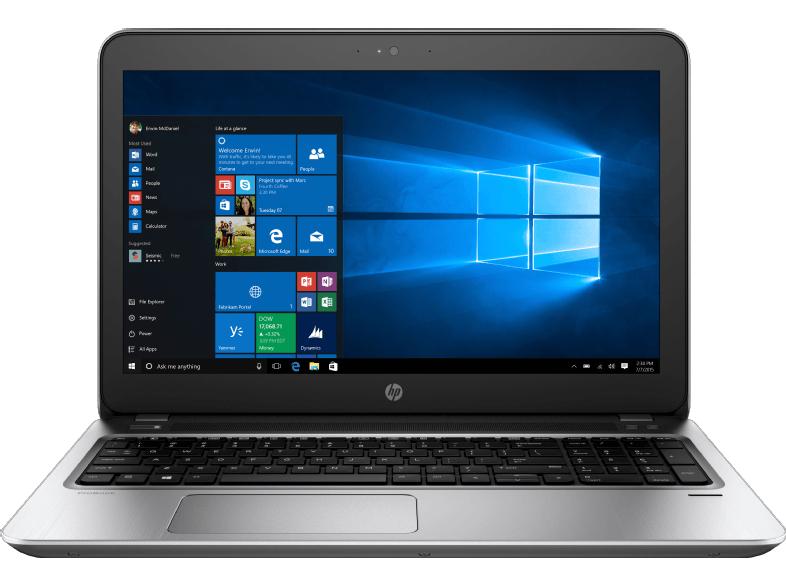 [MediaMarkt.at] 15,6 Zoll i7-7500U Kaby-Lake HP Notebook ProBook 450 G4 (Y8B60EA#ABD) für 887,50€