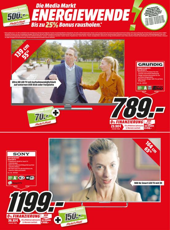 "TV Fernseher Sony FullHD 65"" KDL-65W857 Lokal Media Markt Krefeld 150 Euro Coupon obendrauf"