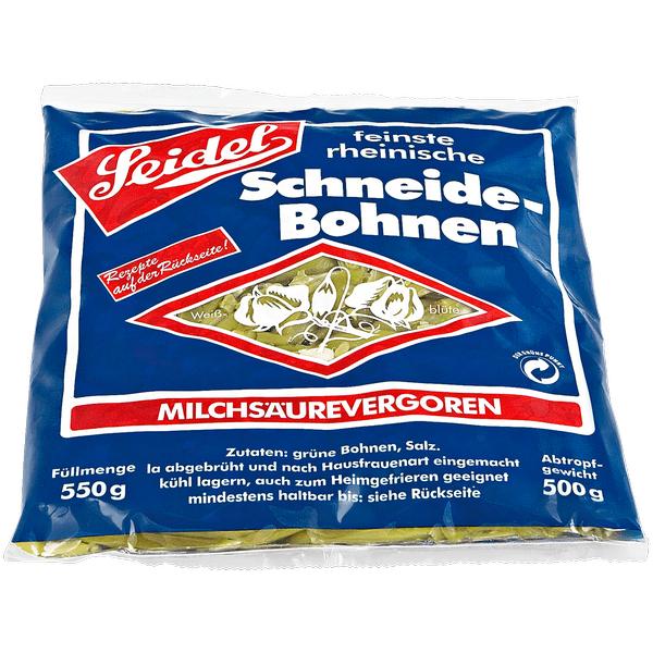 Seidel Schneidebohnen ( Rewe Rheinland 0,99 € )