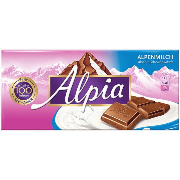 Stollwerck Alpia 100 Gr. verschiedene Sorten ( 0,49 € bei Rewe bundesweit )