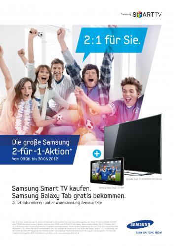 Samsung TV aus ES7090/ES8090 /E8090 kaufen + Samsung Galaxy Tab 2 gratis dazu