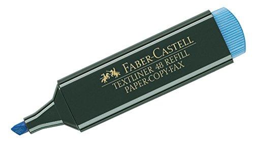 Amazon prime plusprodukt Faber-Castell 154851 - Textmarker Textliner 48, nachfüllbar, blau und weitere Farben