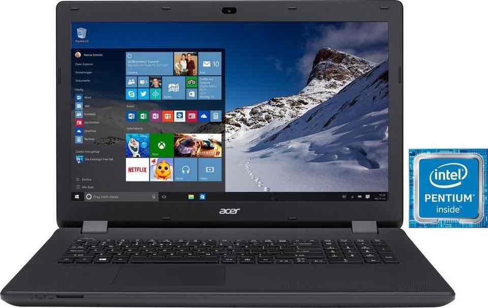 Acer Aspire ES1-731-P892 Notebook, Intel® Pentium™, 43,9 cm (17,3 Zoll), 1000 GB Speicher - Otto.de