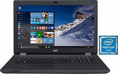 [Quelle] Acer Aspire ES17 ES1-731-P892 Notebook, Intel® Pentium™ N3700, 43,9 cm (17,3 Zoll), 1TB, Win10 Home, 8GB RAM, 1600x900