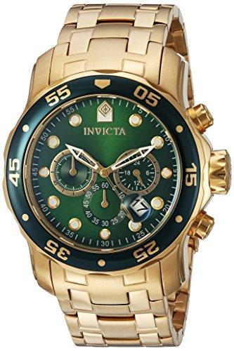 Invicta Herren-Armbanduhr XL Chronograph Quarz Edelstahl 302,26€ Amazon