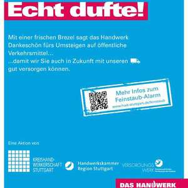 [Lokal Stuttgart Hbf] 5.000 gratis Brezeln am Dienstag