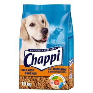 6x 10kg Chappi Vollkost Brocken für 57,93€ (inkl. DHL) / Sackpreis 8,99€ + insges. 3,99€ Versand [raiffeisenmarkt24.de]
