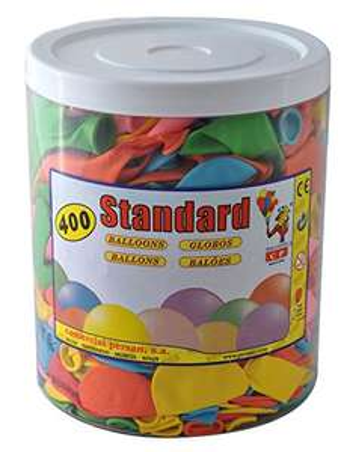 400 Luftballons bunt sortiert [Amazon plus Produkt]