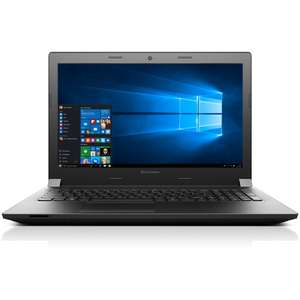 "[NBB] Lenovo B50-10 80QR005UGE mattes 15,6"" Display, 1366 x 768 HD-Auflösung, Intel Dual-Core N2840, 8GB, 128GB SSD, DVD, Windows 10"