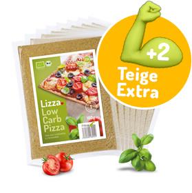 Kostenlose Extra Teige + Soße - Bei der Bestellung der gesunden Lizza Low Carb Pizza (Höhle der Löwen)