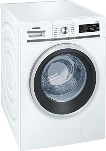 Siemens iQ700 WM14W5A1 iSensoric Premium-Waschmaschine / A+++ / 1400 UpM / 8 kg / Weiß / Nachlegefunktion / Antiflecken-System / Super15 @Amazon.de