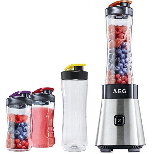 [AMAZON PRIME] AEG PerfectMix SB 2500 Mini Mixer inkl. 2x 0,6L + 2x 0,3L Trinkflaschen