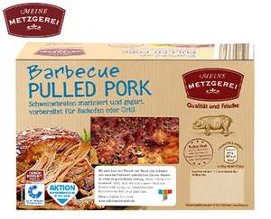 [Aldi-Süd am 14.1.] Pulled Pork 550g für 2,99€