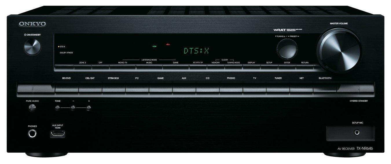 Onkyo TX-NR646 (B) 7,2-Kanal Netzwerk-AV-Receiver. amazon ab 23.1. Lieferung
