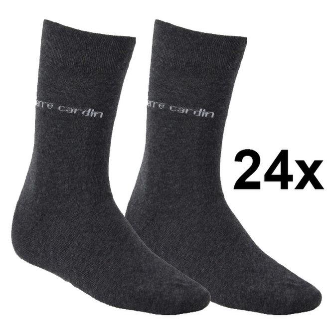 24 Paar Pierre Cardin Business Socken Herren versch. Farben Gr. 39-42 & 43-46 für 19,99€ - ebay