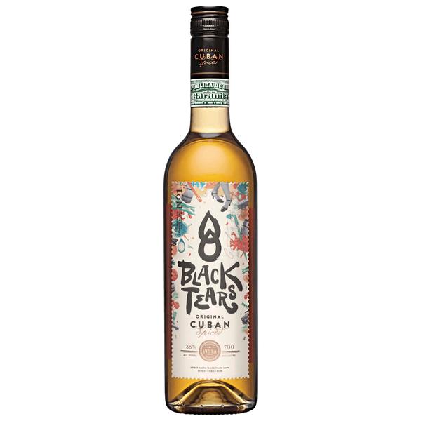 NEUHEIT: Black Tears Rum für 14,99€ die 0,7L Flasche - Rewe Offline und Online