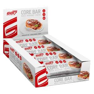 GOT7 Core Bar Protein Riegel - 2x12 Stk. - 1,27€/Stk. [ähnlich Quest Bar]