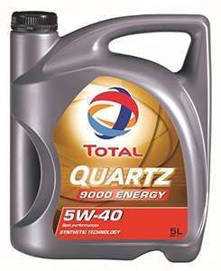[Amazon Prime]Total 5W-40 Quartz 9000 Energy - 5 Liter 5W40
