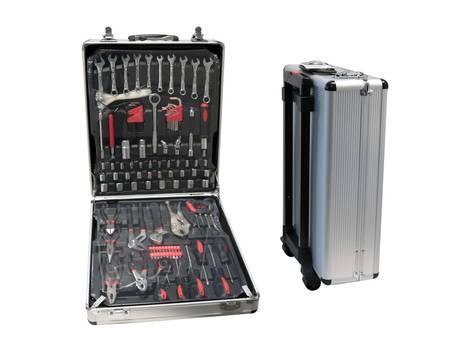 [Artlands / Allyouneed] Hoffmann Werkzeugkoffer, Werkzeugset, 289 tlg., 11 kg, Aluminium